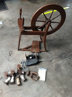 Ashford Spinning Wheel with Electric conversion