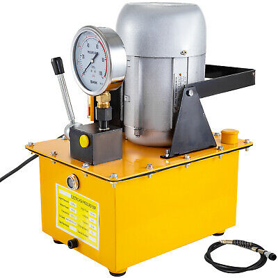 Electric Driven Hydraulic Pump 10000 PSI (Single acting manual valve)