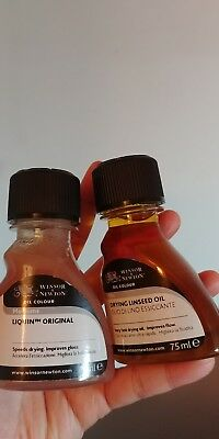 Winsor & Newton Linseed Oil and Liquin 75ml