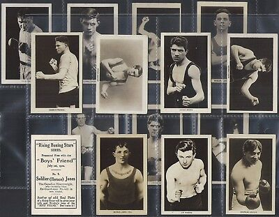 Boys Friend-Full Set- Rising Boxing Stars (Mf15 Cards)