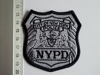 NYPD New York Police badge patch USA Polizei Abzeichen Brust