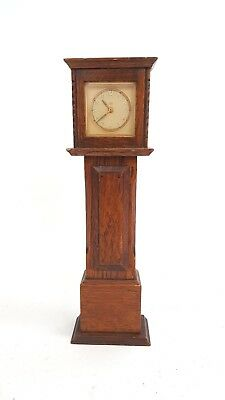 Vintage Smiths Empire Miniature/Mantle Piece Grandfather Clock (S31_1939)