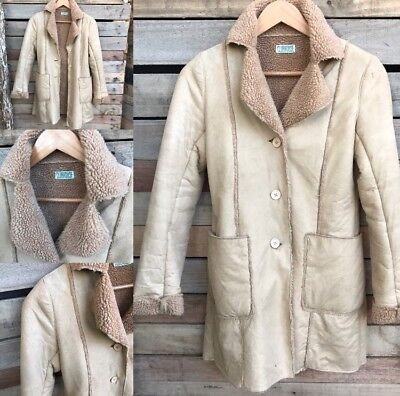 Vintage Suede/Sherpa Coat By Clubhouse // Small