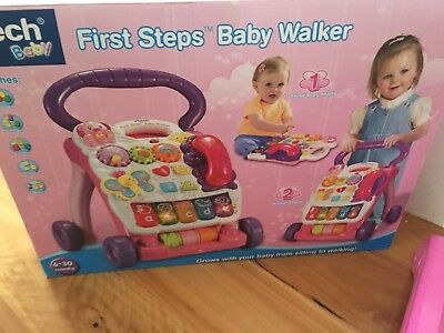 Vtech Baby First Step Baby Walker. Pink And Walker New Condition. Collect Heidel