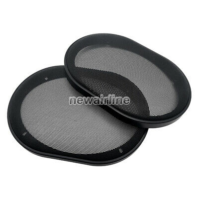 Provided For 6x9 6x9 Inch Speaker Cover Protection Car Audio Decorative Circle Metal Mesh Grille Speaker Accessories