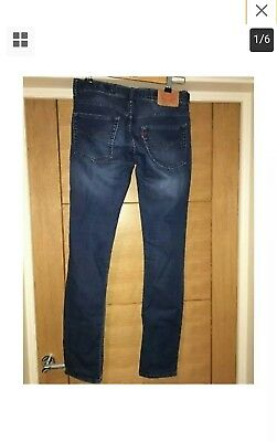 Boys Age 16 Skinny Fit Levis Jeans