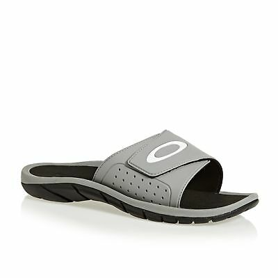 d7629d1e8a92 OAKLEY SUPERCOIL SLIDE 2.5 Mens Footwear Sandals - Stone Gray All Sizes -  £35.00