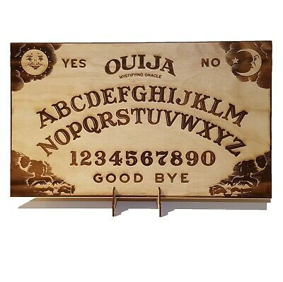 Weegie Spirit Ouija Board incl. Planchette. Large size 50cm x 30cm + free stand