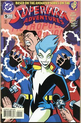 Superman Adventures #5 - NM- - 1st Full Appearance Of Livewire