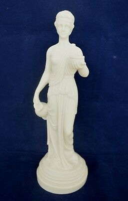 Hebe sculpture alabaster statue Ancient Greek cupbearer for the gods and goddess