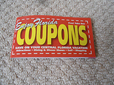 Florida Orlando Coupon Book lots discount vouchers inc Ripleys Believe It or Not