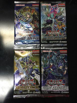 Yu-Gi-Oh! Sealed Booster Pack x1 Various Packs Available