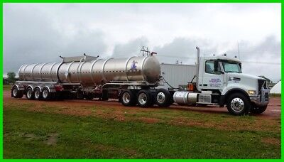 2015 Volvo & 2014 Troxell Oil Tanker,Volvo D13,505hp,12-Speed Automatic,4 Axle