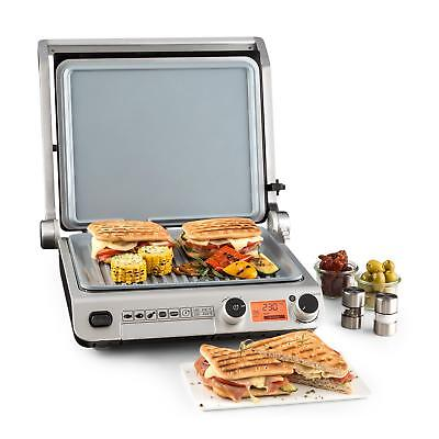 Contact Grill de table multifonction Plancha vitrocéramique Toaster Panini 2000W