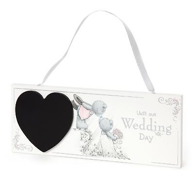 Me to You Wedding Countdown Plaque