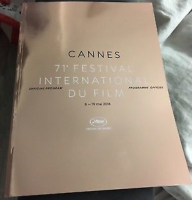PROGRAMME OFFICIEL DU 71éme FESTIVAL INTERNATIONAL DU FILM DE CANNES 2018