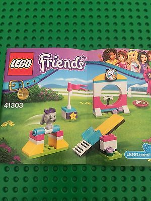 Lego Friends Instruction Manual Only For Puppy Playground 41303 No