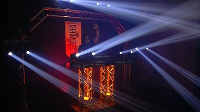 chauvet intimidator spot duo with carry bag