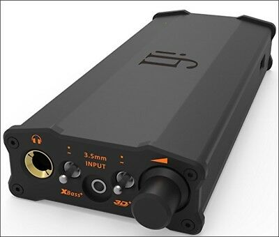 iFi micro iDSD Black Label - Octa-Speed DSD512 DoubleSpeed DXD PCM USB DAC Amp