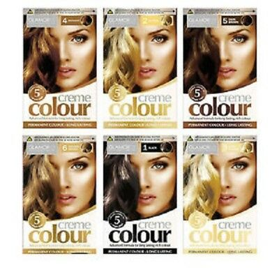 Glamorize Permanent Hair Dye- Long Lasting Creme Colours - Select Your Shade