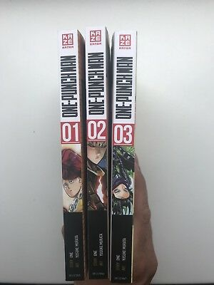 One Punch Man Band 1-3