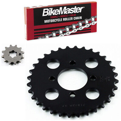 JT 420 Chain 12-32 T Sprocket Kit 71-7306 for Yamaha Chappy 50 LB50 1978-1982