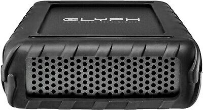 Glyph BlackBox Pro BBPR4000 4TB External Hard Drive 7200 RPM, USB-C (3.1,Gen2)