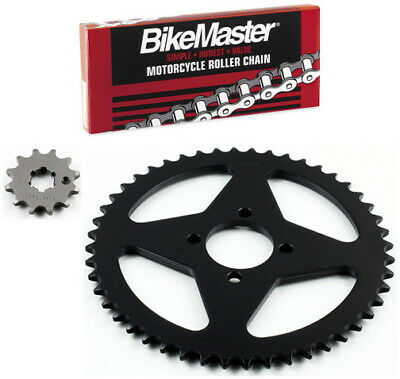 JT 420 Chain 12-48 T Sprocket Kit 71-7552 for Yamaha Chappy 50 LB50 1978-1982