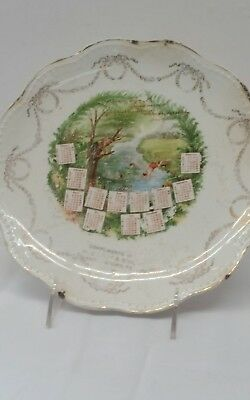 1910 calendar plate Mahoningtown PA Lawrence county Davy & son General Store?
