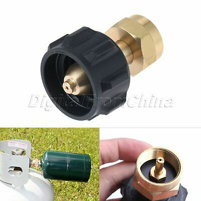 Useful Gas Propane Refill Adapter 1 LB Cylinder Connection QCC1 Regulator Valve