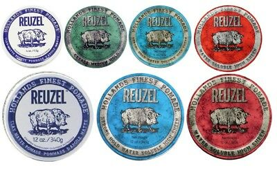 "REUZEL Hair Pomade - CHOOSE YOUR TYPE AND SIZE """"Free Shipping"""""
