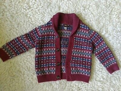 NWOT Tea Collection shawl-collar button cardigan toddler size 2t - unisex