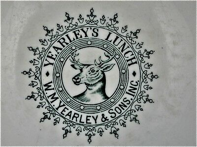 Vintage Yearley's Lunch Bowl W.M. Yearley & Sons, Inc. Restaurant Ware England
