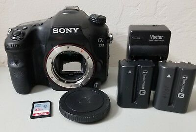 Sony Alpha a77 II 24.3MP Digital SLR DSLR Camera - Body *Shutter under 16k*