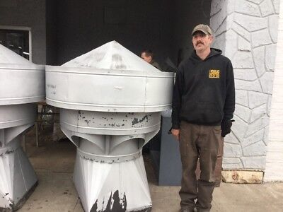 large galvanized barn cupola,with 6 Louvre Ducts Great Decor Lionel Ventilation