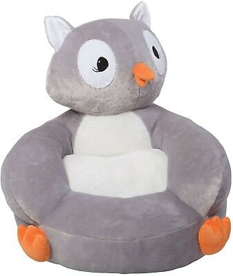 Trend Lab Plush Character Chair Childrens Children Owl Baby Toddler Soft Kids  sc 1 st  PicClick & TREND LAB PLUSH Character Chair Childrens Children Owl Baby Toddler ...