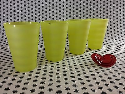 NEW Tupperware  Expressions/Tumblers Picnic Beach Kids Large Yellow ❤
