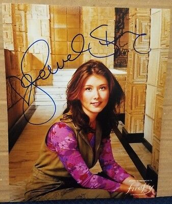 Jewel Staite Signed Firefly Photo Kaylee Alien Con 2016 Autographed Serenity