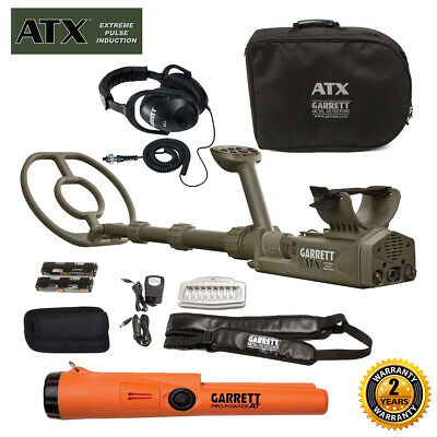 Garrett ATX Extreme Pulse Induction Deep Seeker with & Pro-Pointer AT Pinpointer