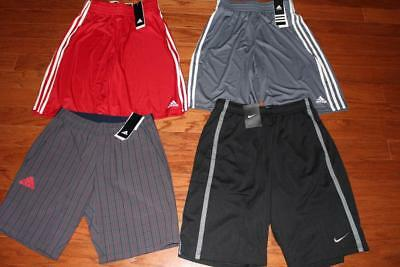 Lot Of 4 Adidas Mens Practice Shorts Tennis Club Bermuda Nike Training Small Nwt