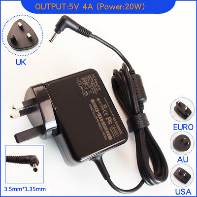 5V 4A AC Adapter Charger Power for Lenovo ideapad 100S-11IBY 80R2 MIIX 310-10
