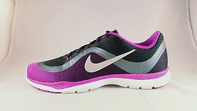 6b032620a44df NIKE FLEX TRAINER 6 Print Woman s Running Shoes 831578 005 Size 10 ...