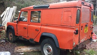 1989 Land Rover Defender 110  (project for spares or repair)
