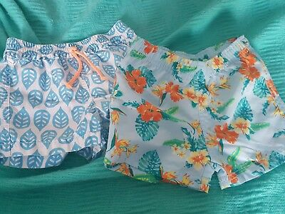 Bonds Baby Swim Shorts and Zara swim shorts size 1 to 2 yrs EUC like new