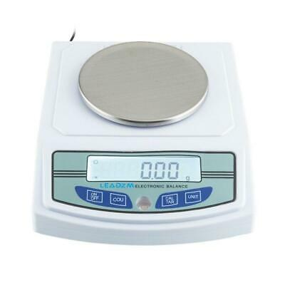 3000g/0.01g Precision LCD Digital Balance Scale Lab Analytical Scale LEADZM