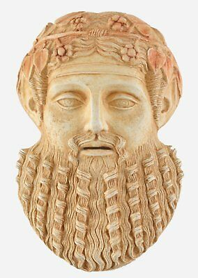 Dionysos Small Mask - Dionysus God of wine ritual madness and ecstasy - Bacchus
