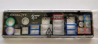 ASRock Motherboard Backplate IO I/O shield Plate for Fatal1ty P67 Professional
