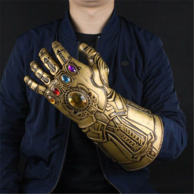 2018 Thanos Infinity Gauntlet Glove Cosplay Infinity War The Avengers Prop Gift