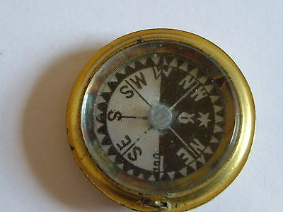 Mother-Of-Pearl Compass For Double Sided Pocket Barometer Compendium : Working