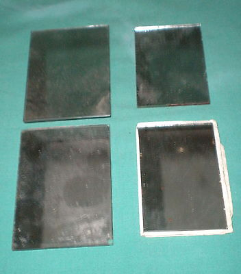 4 kleine Spiegel f. Puppenstuben/4 small mirrors for dollhause